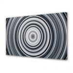 Tablou VarioView MoonLight Fosforescent Luminos in intuneric Abstract Decorativ Cercuri B&W
