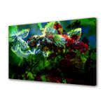Tablou Canvas Luminos in intuneric VarioView LED Abstract Modern Scenariu de culori