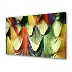 Tablou Canvas Luminos in intuneric VarioView LED Abstract Modern Corzi