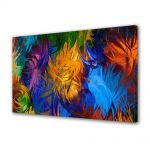 Tablou Canvas Luminos in intuneric VarioView LED Abstract Modern Fulgi