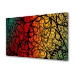 Tablou Canvas Luminos in intuneric VarioView LED Abstract Modern Natura