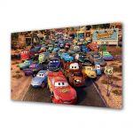 Tablou Canvas pentru Copii Animatie Route 66 Cars