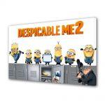 Tablou Canvas pentru Copii Animatie Despicable Me 2 Afis