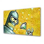 Tablou Canvas pentru Copii Animatie Futurama Bender