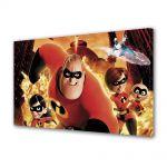 Tablou Canvas pentru Copii Animatie Incredibles Movie