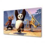 Tablou Canvas pentru Copii Animatie Kung Fu Panda 2 The Movie