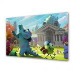 Tablou VarioView LED Animatie pentru copii Monster University 2013 Concept