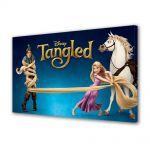 Tablou VarioView LED Animatie pentru copii Tangled Rapunzel, Flynn si Maximus