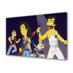 Tablou Canvas pentru Copii Animatie The Simpsons Queen