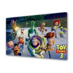 Tablou VarioView LED Animatie pentru copii Toy Story 3 Marea Evadare