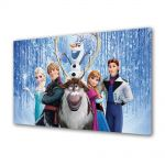 Tablou VarioView MoonLight Fosforescent Luminos in intuneric Animatie pentru copii Frozen Film Disney