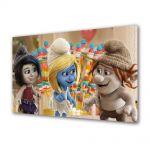 Tablou Canvas pentru Copii Animatie The Smurf 3