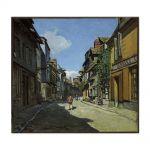 Tablou Arta Clasica Pictor Claude Monet The La Rue Bavolle at Honfleur 1864 80 x 90 cm