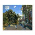 Tablou Arta Clasica Pictor Claude Monet The Artists House at Argenteuil 1873 80 x 90 cm