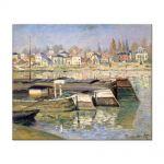 Tablou Arta Clasica Pictor Claude Monet The Seine at Asnieres 1873 80 x 100 cm
