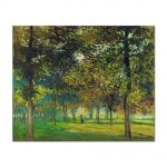 Tablou Arta Clasica Pictor Claude Monet The Allee du Champ de Foire at Argenteuil 1874 80 x 100 cm