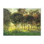 Tablou Arta Clasica Pictor Claude Monet The Promenade at Argenteuil, Soleil Couchant 1874 80 x 110 cm