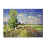 Tablou Arta Clasica Pictor Claude Monet The Summer, Poppy Field 1875 80 x 110 cm