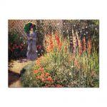 Tablou Arta Clasica Pictor Claude Monet Gladioli 1876 80 x 110 cm