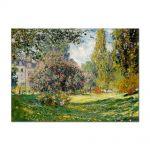 Tablou Arta Clasica Pictor Claude Monet Park Monceau, Paris 1876 80 x 110 cm