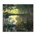 Tablou Arta Clasica Pictor Claude Monet The Pond at Montgeron 1876 80 x 90 cm