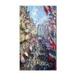 Tablou Arta Clasica Pictor Claude Monet The Rue Montorgueil, Paris 1878 80 x 120 cm