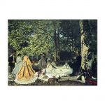 Tablou Arta Clasica Pictor Claude Monet Lunch on the Grass 1865 80 x 110 cm
