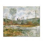 Tablou Arta Clasica Pictor Claude Monet Vetheuil, Prairie Inondee 1881 80 x 100 cm