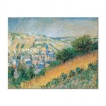 Tablou Arta Clasica Pictor Claude Monet View over Vetheuil 1881 80 x 100 cm