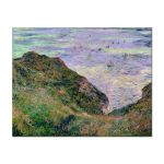 Tablou Arta Clasica Pictor Claude Monet View Over the Sea 1882 80 x 100 cm