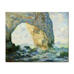Tablou Arta Clasica Pictor Claude Monet The Manneport, Rock Arch West of Etretat 1883 80 x 100 cm