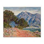 Tablou Arta Clasica Pictor Claude Monet Cap Martin 1884 80 x 100 cm
