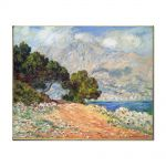 Tablou Arta Clasica Pictor Claude Monet Meton Seen from  Cap Martin 1884 80 x 100 cm