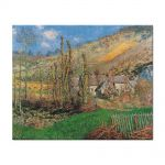 Tablou Arta Clasica Pictor Claude Monet Winter Landscape at the Val de Falaise 1885 80 x 100 cm