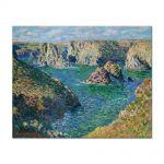 Tablou Arta Clasica Pictor Claude Monet Port Donnant, Belle Ile 1886 80 x 100 cm