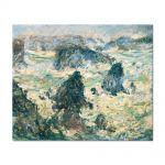 Tablou Arta Clasica Pictor Claude Monet Storm on the Cote de Belle-Ile 1886 80 x 100 cm