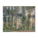 Tablou Arta Clasica Pictor Claude Monet Poplars at Giverny 1887 80 x 100 cm