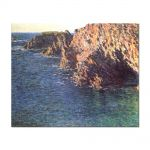 Tablou Arta Clasica Pictor Claude Monet The Grotto of Port-Domois 1866 80 x 100 cm