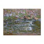 Tablou Arta Clasica Pictor Claude Monet Torrent of the Petite Creuse at Fresselines 1889 80 x 110 cm