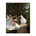 Tablou Arta Clasica Pictor Claude Monet Women in the garden 1866 80 x 100 cm