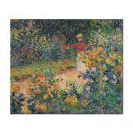Tablou Arta Clasica Pictor Claude Monet Monets Garden at Giverny 1895 80 x 90 cm