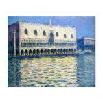 Tablou Arta Clasica Pictor Claude Monet The Palazzo Ducale 1908 80 x 100 cm