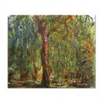 Tablou Arta Clasica Pictor Claude Monet Weeping Willow 1919 80 x 100 cm