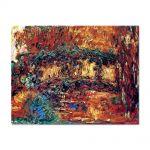 Tablou Arta Clasica Pictor Claude Monet The Japanese Bridge 1924 80 x 100 cm