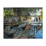 Tablou Arta Clasica Pictor Claude Monet Bathers at La Grenouillere 1869 80 x 100 cm