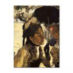 Tablou Arta Clasica Pictor Edgar Degas Tuileries, the woman with a parasol 1877 80 x 100 cm