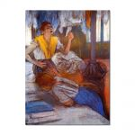Tablou Arta Clasica Pictor Edgar Degas In a Laundry 1884 80 x 100 cm