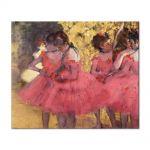 Tablou Arta Clasica Pictor Edgar Degas The Pink Dancers, Before the Ballet 1884 80 x 100 cm