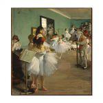 Tablou Arta Clasica Pictor Edgar Degas The Dance Class 1874 80 x 90 cm