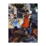 Tablou Arta Clasica Pictor Edgar Degas Cafe Concert. At Les Ambassadeurs 1877 80 x 100 cm